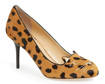 Charlotte Olympia 'Kitty' Calf Hair Pump | Nordstrom
