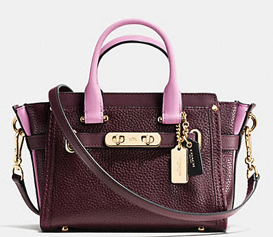 COACH Designer Handbags | Coach Swagger 20 In Colorblock Leather