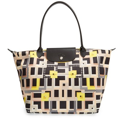 Longchamp 'Large Le Pliage - Artwalk' Tote @ Nordstrom