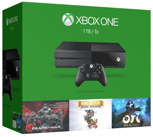 Xbox One 1TB Console - 3 Games Holiday Bundle
