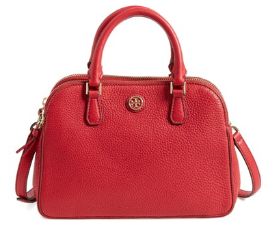 Tory Burch 'Small Robinson' Pebbled Leather Satchel | Nordstrom