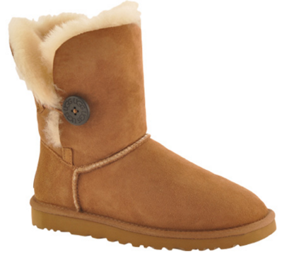UGG Bailey Button Boot - Chocolate - FREE Shipping & Exchanges | Shoebuy.com