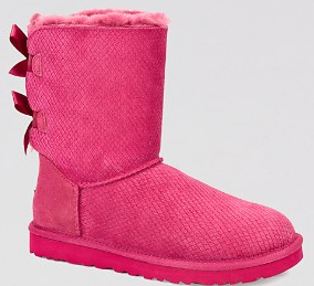 UGG� Australia Bow Exotic Scales Boots - Bailey | Bloomingdale's