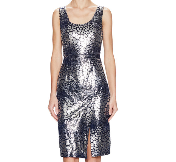 French Connection Fast Sequin Croc Dress