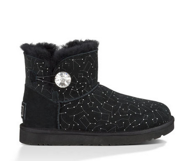 UGG Official | Women's Mini Bailey Button Bling Constellation Footwear | UGGAustralia.com