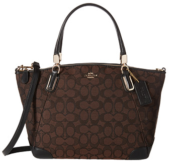 COACH Signature Updated Small Kelsey at 6pm.com