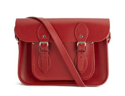The Cambridge Satchel Company 11 Inch Classic Leather Satchel - Red