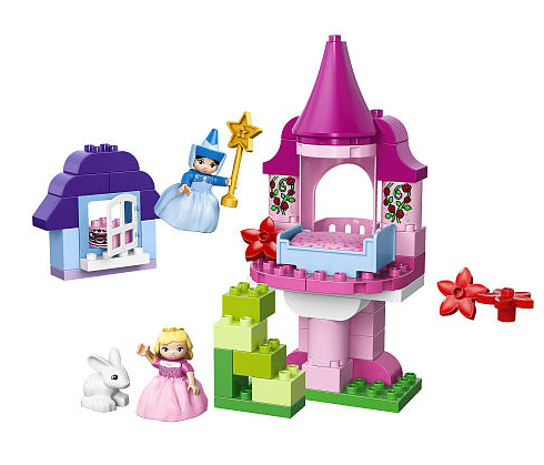 Selected LEGO Duplo construction sets