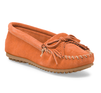 Suede Kitty Moccasin