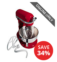 KitchenAid KV25GOXER Professional Plus 5 Quart Stand Mixer