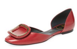 Chips Chaîne D'Orsay Flat by Roger Vivier