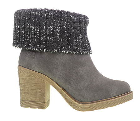 Rise N Shine Sweater Cuff Ankle Boot