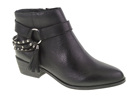 Seasons Leather Ankle Boot