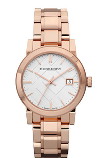 Burberry Women's Rose Gold Stainless Steel Watch