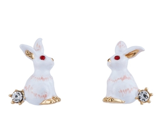 FANTASY GARDEN RABBITS EARRINGS