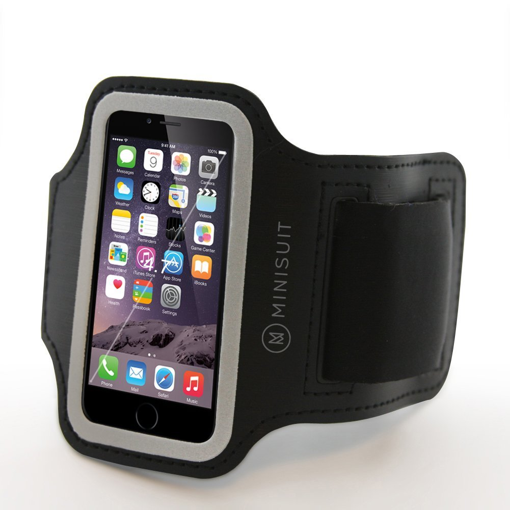 Minisuit SPORTY Armband + Key Holder for Apple iPhone 6/6s