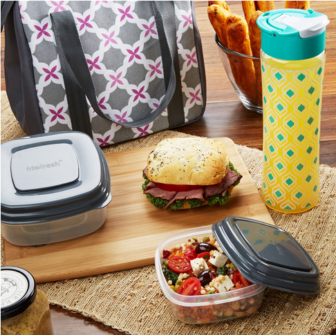 Nashville Insulated Lunch Bag Kit with Container Set and Tritan Water Bottle