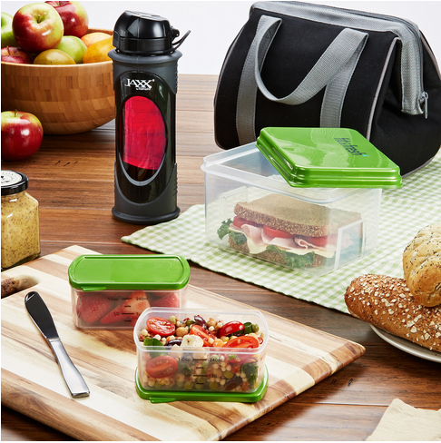 Big Phil Insulated Lunch Bag Kit with Glass Jaxx Shaker Cup