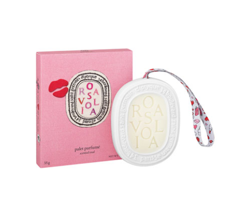 Diptyque  Rosaviola Hangable Scented Oval for Handbag or Drawer