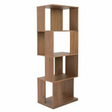 Oxnard Shelf Bookcase WALNUT