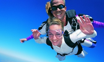 Ground School and Tandem Jump for One or Two from 9,000 or 13,000 Feet from Skydive Sacramento (50% Off)