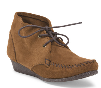 Suede Chukka Wedge - Wedges