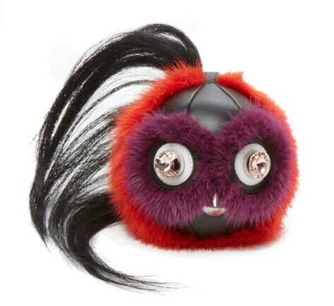 Goat & Mink Fur Bag Bug by Fendi at Gilt