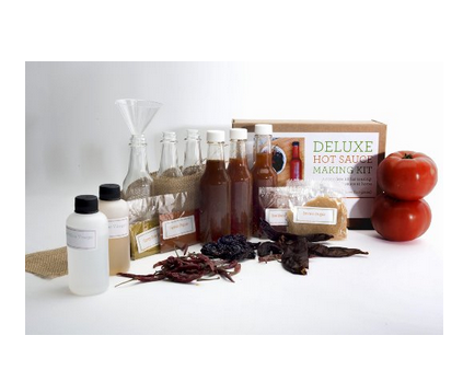Deluxe Hot Sauce Making Kit - Includes Everything Needed to Make 6 Sauces