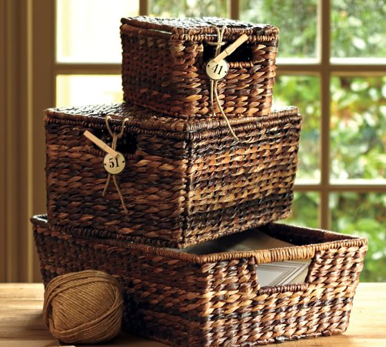 Havana Lidded Baskets