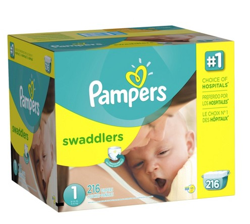 Pampers Swaddlers Diapers Economy Plus Pack (Select Size)