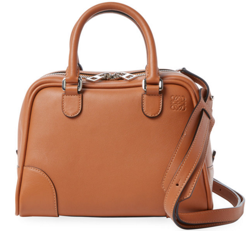 LOEWE Amazona 75 Small Calfskin Leather Satchel