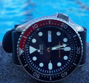 $176 Seiko Men's SKX175 Stainless Steel Automatic Dive Watch