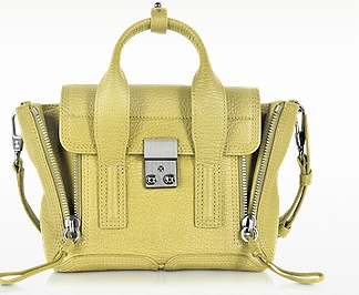 3.1 PHILLIP LIM Citron Pashli Mini Satchel