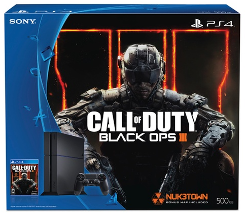 PlayStation 4 500GB Console with Call of Duty: Black Ops III