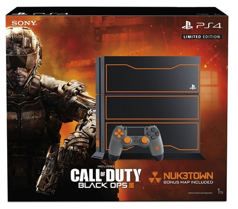 PS4 1TB Limited Edition Call of Duty: Black Ops 3 Bundle