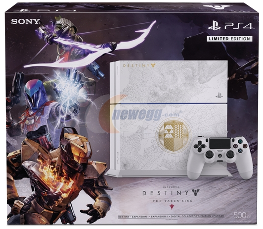 PS4 500GB System Bundle with Destiny: The Taken King