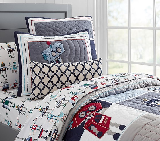 Robot Quilted Bedding