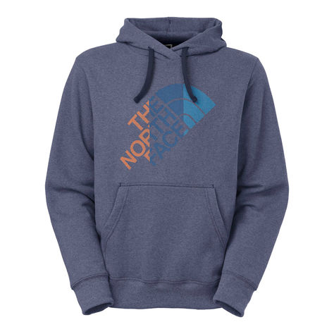 The North Face Mens Glitch Logo Pullover Hoodie