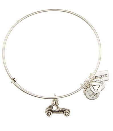 Alex and Ani   Monopoly Car Charm Wire Bangle   HauteLook