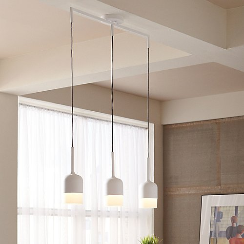 Mezzo 3-Light Suspension by LBL Lighting