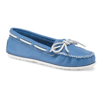 Leather Smooth Boat Moccasin