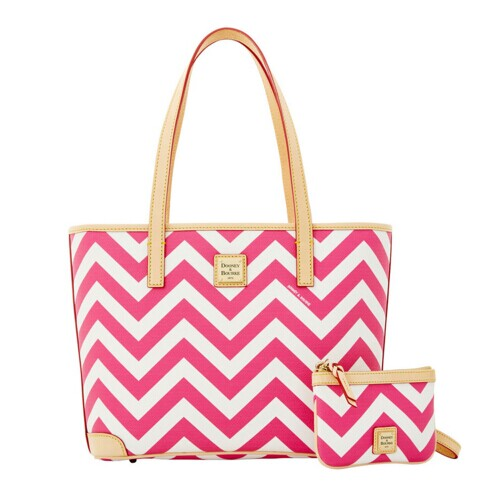 Dooney & Bourke Chevron Charleston with Medium Wristlet – ILoveDooney