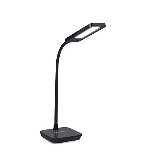 Dimmable LED Desk Lamp, used as student lamp, table lamp, reading lamp and book light
