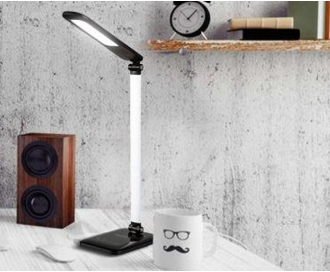 15 Modes 8W LED Desk Lamp, Eyes Caring Dimmable Table Lamp