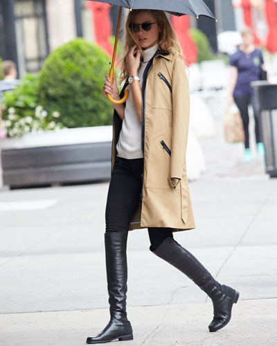 Free $100 Gift Card with Purchase Over $500 on Stuart Weitzman 5050 Over-The-Knee Boots