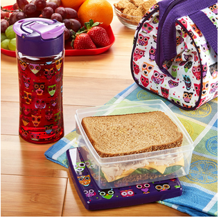 Kid's Riley Insulated Bag Kit with Lunch Pod & Tritan Water Bottle