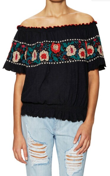 Sienna Off The Shoulder Top by Free People at Gilt