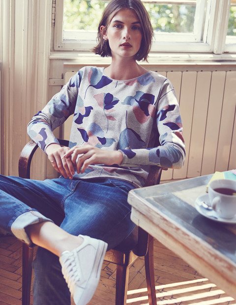 Casual Jersey Sweatshirt WO013 Long Sleeved Tops at Boden