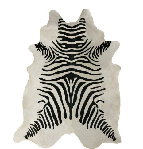 Hand Made Striped Cowhide