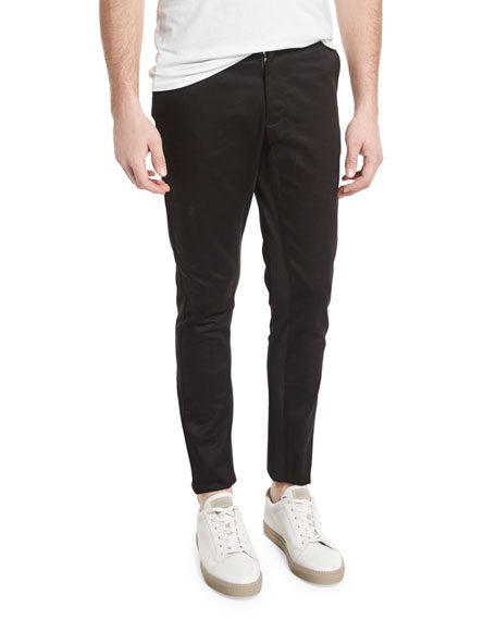 Opening Ceremony Shutter Slim-Fit Trousers, Black